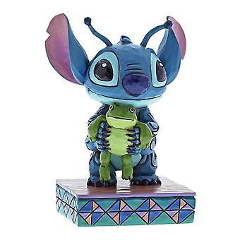 La estatuilla de las tradiciones de Disney Lilo y Stitch ' extrañas vidas-forma '