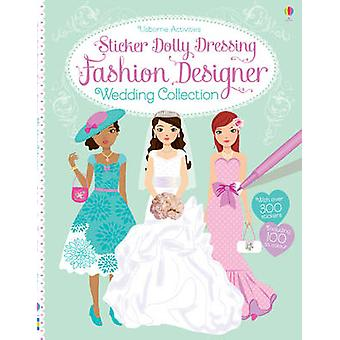 Sticker Dolly Dressing Fashion Designer Wedding Collection by Fiona W