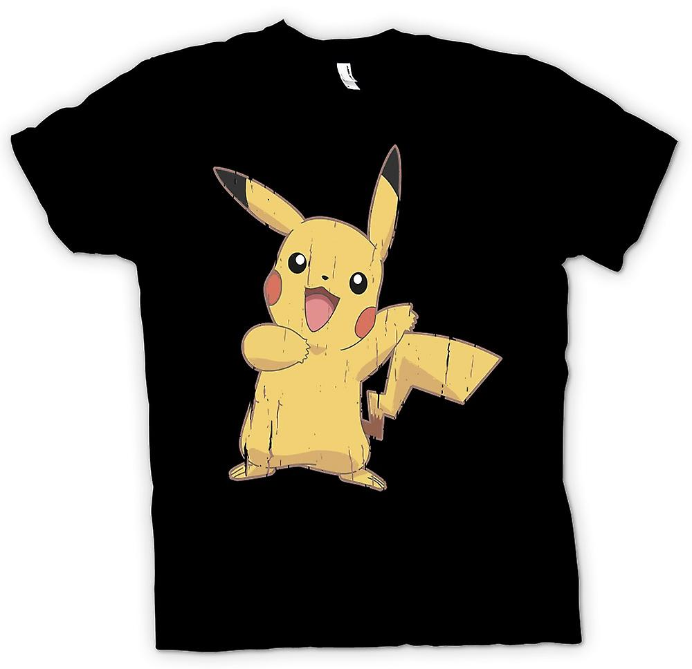 Mens t-shirt - Pikachu - Cool Pokemon ispirato