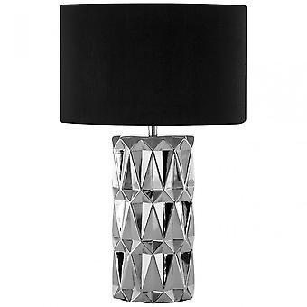 Premier Home Jaxon Table Lamp, Silver