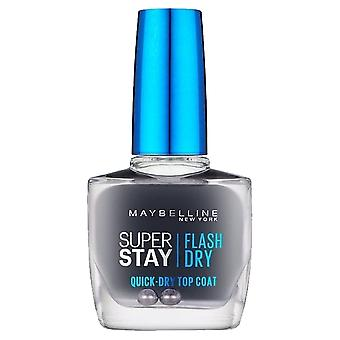 Maybelline Forever stark Super Stay-Flash Dry-snabb torr topcoat 10ml