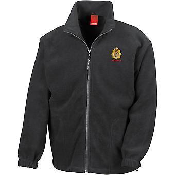 RLC Royal Logistics Corps Veteran - Chaqueta de fleece de peso pesado bordado del Ejército Británico con licencia