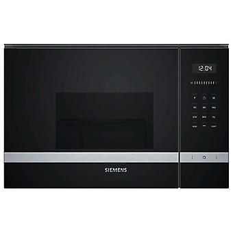 Built-in microwave with grill Siemens AG BE525LMS0 MF 20 L 1270W black