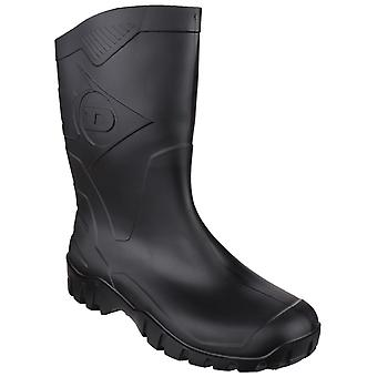 Dunlop Mens Dee Calf Length Wellington
