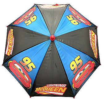 Umbrella - Disney - Cars - Lighting Mcqueen Blue/Black Boys/Kids New 389380