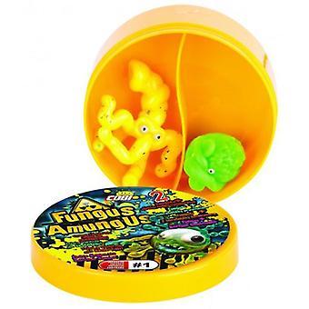 بعزق Pack 2 الفطريات أمونجوس العينة (الرضع والأطفال، لعب الأطفال، والعمل وأرقام)