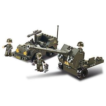 Kombat Military Bricks Anti-Tank Gun