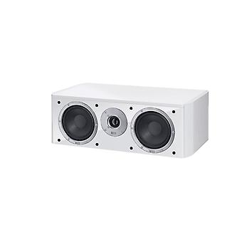 Heco music style Center 2, 2 way bass reflex Center speaker, color: white, 1 piece new goods