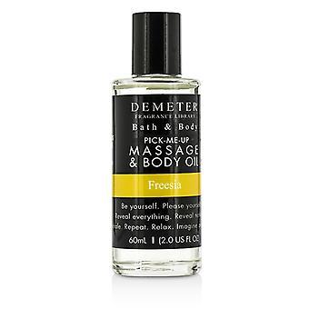 Demeter Fresia masaje y aceite corporal - 60ml / 2oz
