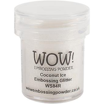 WOW! Embossing Pulver 15ml-Kokos Eis WOW-WS84R