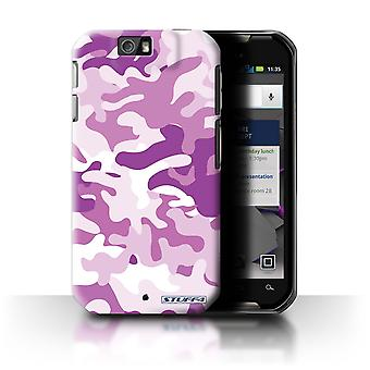 STUFF4 Case/Cover for Motorola IronRock/XT626/Pink 1/Camouflage Army Navy