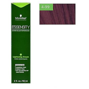 Schwarzkopf Professional Essensity Intense Violet Brown Medium 4-99