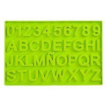 Ibili Chocolate mold Letters and Numbers
