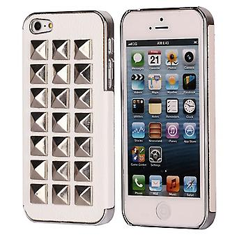 Cover with rates for iPhone 5 square (white)