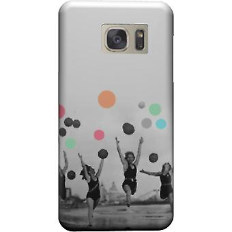Vintage Women cover for Galaxy S6 Edge
