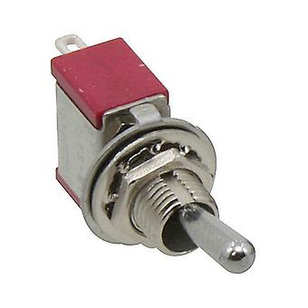 Tilt switch 1-pole switch, ON-ON