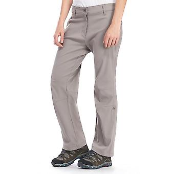 New Peter Storm Women's Stretch Roll Up Pantalons Small Grey