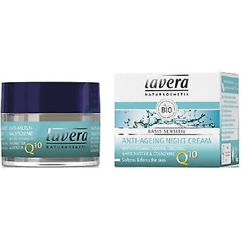Lavera Anti-Aging Night Cream And Shea Butter Bio Q10 Ojoba