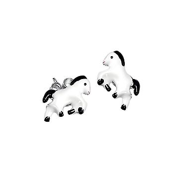 Scout children earrings ear cutter Silver Horse girl 262153100