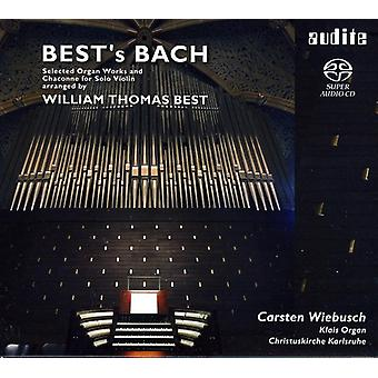 Bach/Best - Best's Bach: Selected Organ Works and Chaconne for Solo Violin, Arranged by William Thomas Best [SACD] USA import