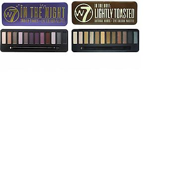 W7 Eyeshadow Palettes- (In the Night + Lightly Toasted)