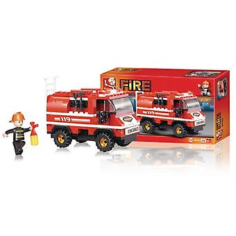 Sluban M38-B0276 fire van