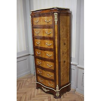 Commode baroque armoire Louis xv style antique MkSm0089
