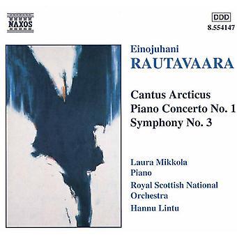 E. Rautavaara - Rautavaara: Cantus Articus; Piano Concerto [CD] USA import