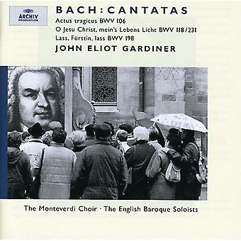 J.S. Bach - Bach: Cantatas Bwv 106, 118/231, 198 [CD] USA import