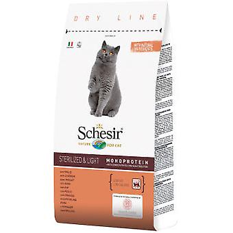 Schesir Schesir Sterilized & light avec poulet (Chats , Nourriture , Croquettes)