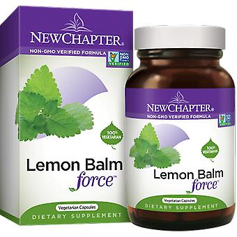 New Chapter Lemon Balm Force Vcaps 30 Ct