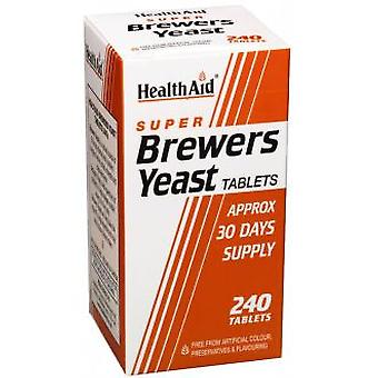 Health Aid Beer Yeast 240Comp. Health Aid (Vitamines en Suplementen , Multinutrients)