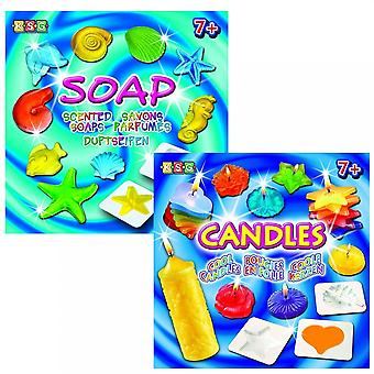 KSG KSG bougies Cool & savons parfumés Bundle
