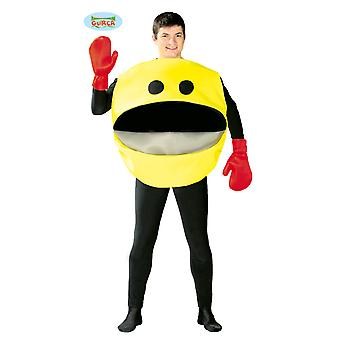 Emoticon Fressman 80's retro game costume mens costume one size