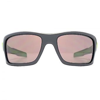 Oakley Turbine Sunglasses In Matte Dark Grey Prizm Daily Polarised
