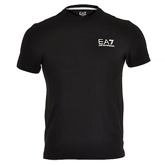 EA7 Emporio Armani Train Core ID Logo Crew Neck T-Shirt, Black, Small