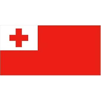 Tonga Flag 5ft x 3ft With Eyelets For Hanging