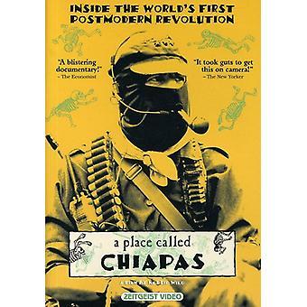 Sted kaldet Chiapas [DVD] USA importerer