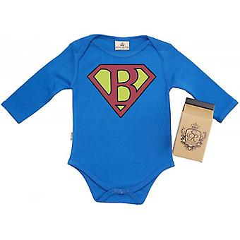 Spoilt Rotten SuperBaby Baby Grow 100% Organic In Milk Carton