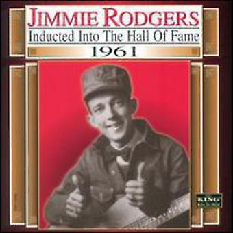 Jimmie Rodgers - 1961-Country Music Hall van Fam [CD] USA import