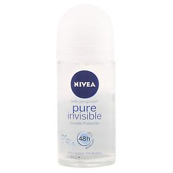 Nivea Pure Invisible Deodorant Roll-On 50 ml