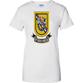 1st Special Forces Regiment - Airborne 39th Special Forces Det - Ladies T Shirt