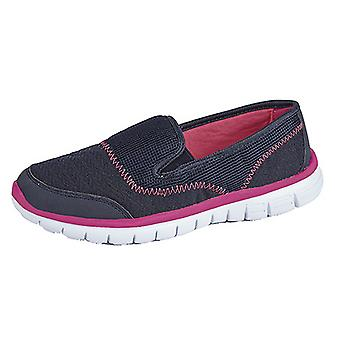Dek Womens/Ladies Superlight Twin Elastic Gusset Leisure Shoes