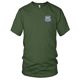 US-DD-744 USS Marineblau Schiff gestickt Patch - Kinder T Shirt