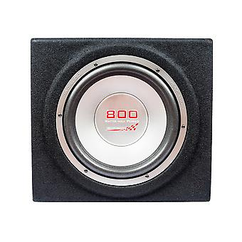 Mac audio edition BS 30, * svart * 30cm subwoofer, subwoofer 800 watt Max nya