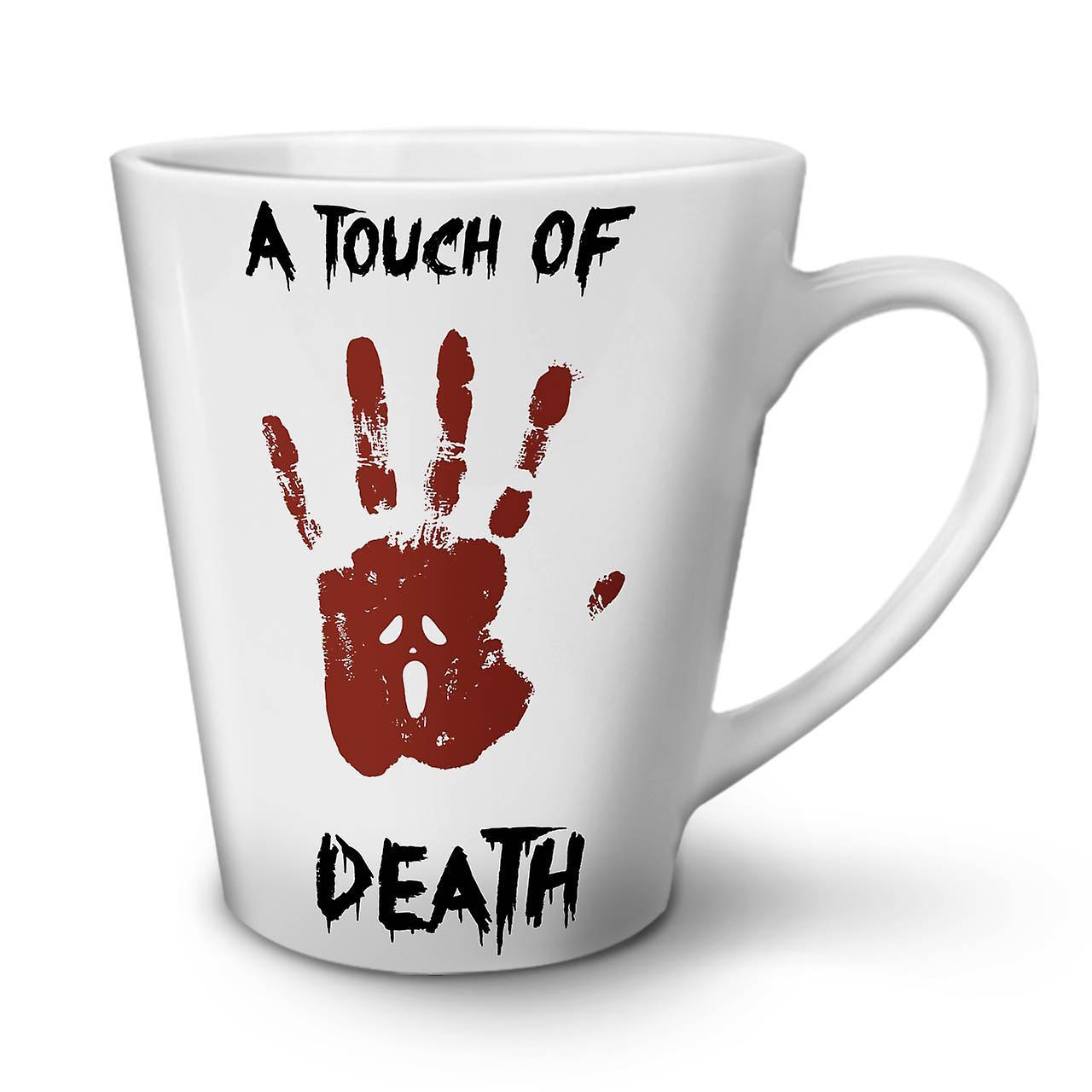 Mort Horreur Céramique 12 Café Latte Blanche Tasse Touche OzWellcoda Nouvelle De En Ajq43R5cL