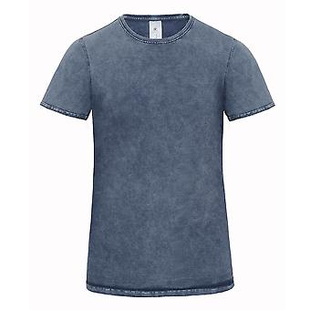 B&C Denim Mens Editing Short Sleeve T-Shirt