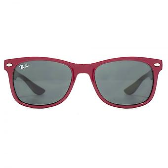 Ray-Ban Junior Wayfarer Sunglasses In Fuchsia On Grey