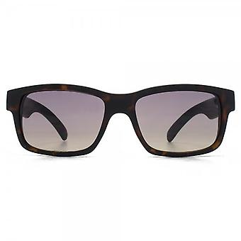 Fenchurch Square Sunglasses In Matte Tortoiseshell With Black Temples