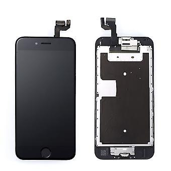 Pre-montado Iphone pantalla 6S AAA + negro & herramientas